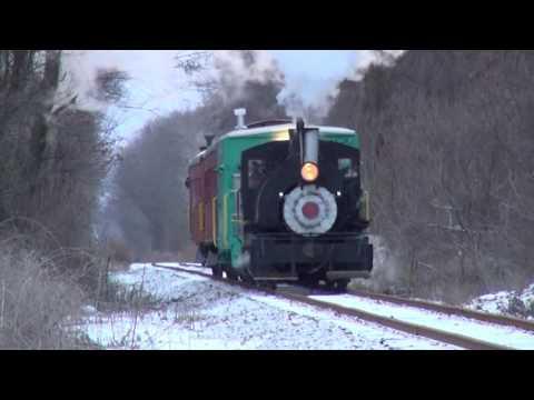 Buffalo Cattaraugus & Jamestown Scenic Railway & Viscose 6 - Holiday Steam Express