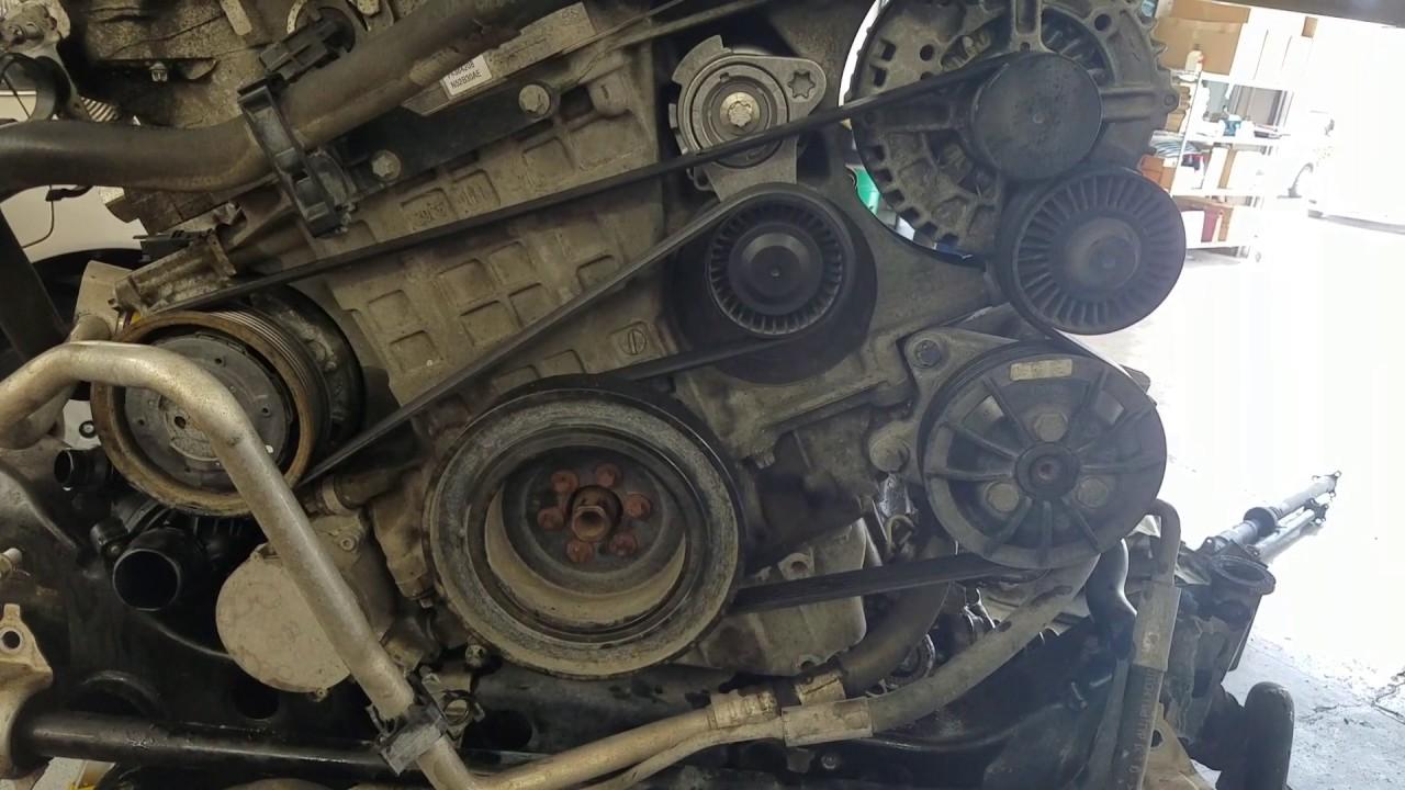 Serpentine belt BMW 328xi  YouTube