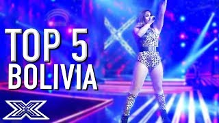 TOP 5 Performances on The X Factor Bolivia X Factor Global