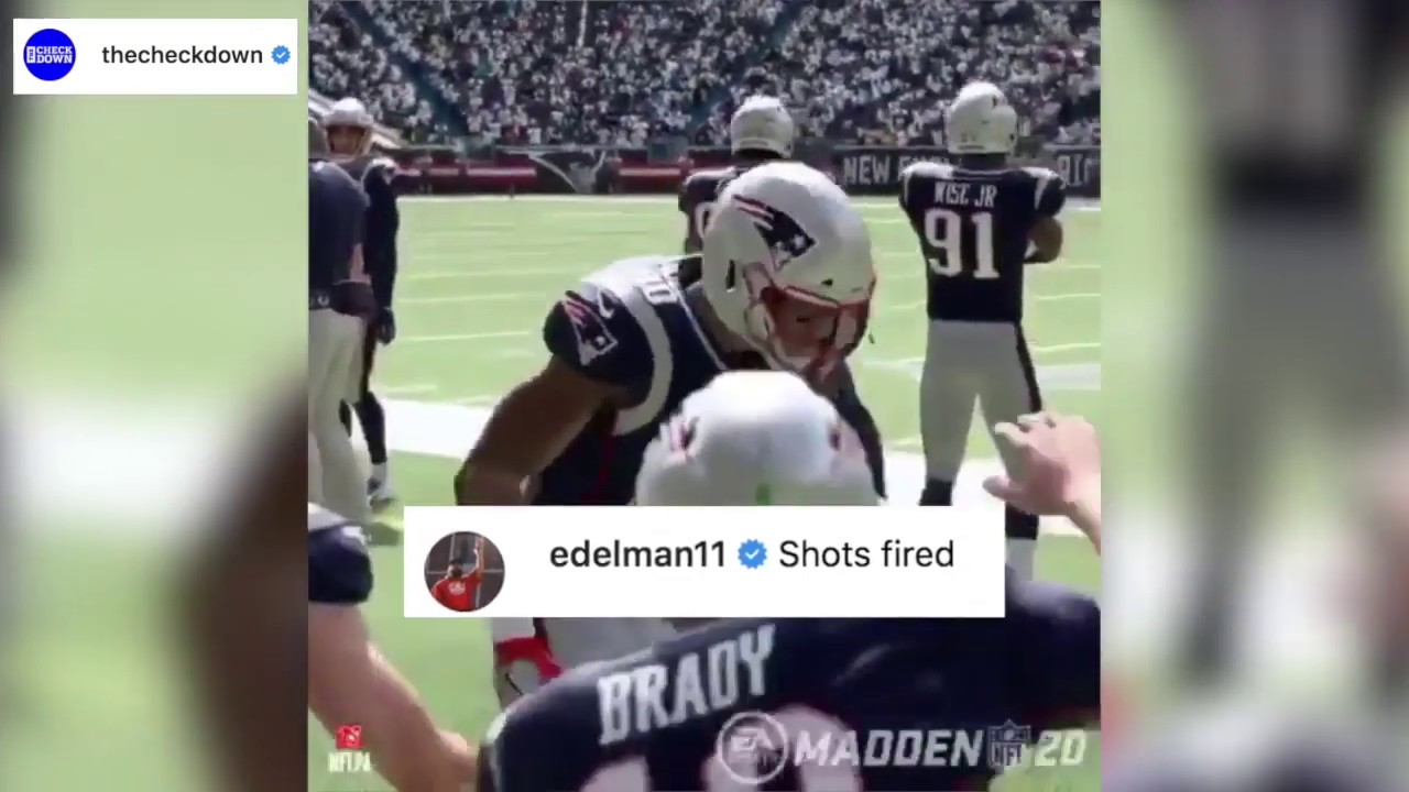 Madden 20 roasts Tom Brady, Brady claps back
