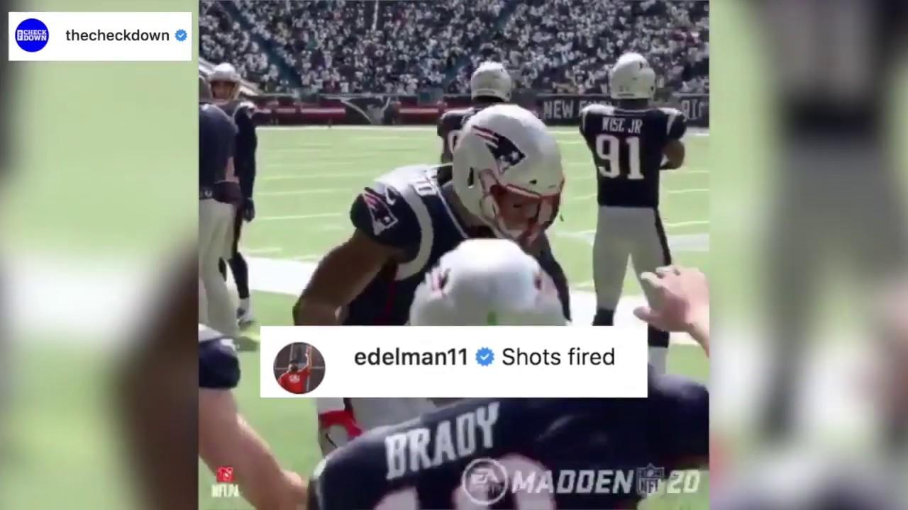 Madden 20 roasts Tom Brady, Brady claps back