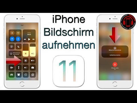 iPhone Bildschirm aufnehmen - iOS 11 Screen Recording Tutorial [Deutsch/German]