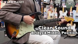 Guitar Planet Exclusive 1963 Stratocaster Relic with 51 Nocaster U-Shape! -3 Color Sunburst-
