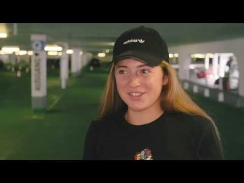 Parking Challenge with Jelena Ostapenko - Porsche Tennis Grand Prix 2018