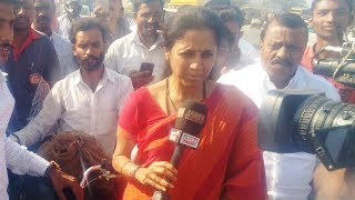 Supriya Sule IBN Lokmat Citizen Journalist at Pune