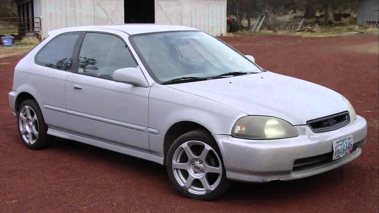 1996 Honda Civic Hatchback Custom Youtube