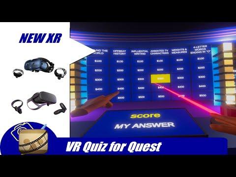 VR Quiz Jeopardy