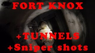 Atb Airsoft At Fort Knox 11/07/2015 (with Tunnels And Sniper Shots)