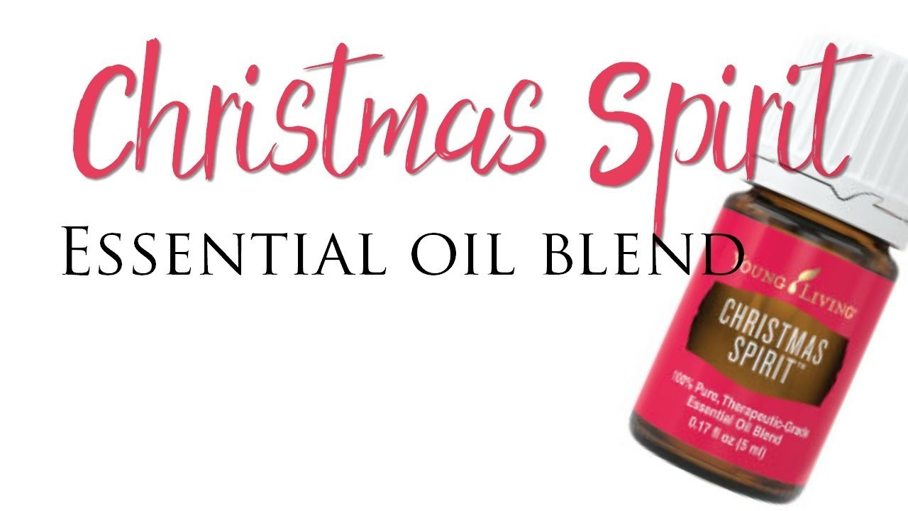 christmas spirit essential oil blend young living - Young Living Christmas Spirit