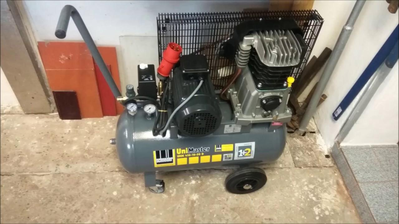 Schneider A713000 Kompressor UniMaster UNM 410-10-50 W