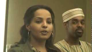 هند مالك تتحدث عن مشاكل زواج البنات السودانيات فى امريكا فى موتمر سابا