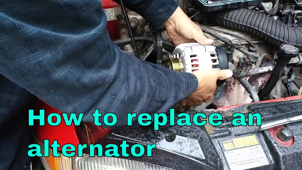 How To Replace The Alternator On Chevy Cavalier