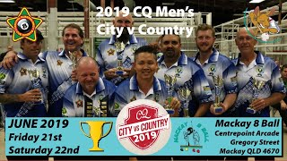 2019 CQ City v Country - Men's + Women's CvC - Round 1 - 10:30AM