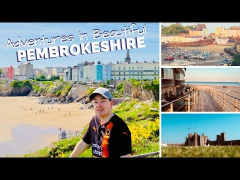 Beautiful Pembrokeshire -Tenby to Pembroke - What to Do & Where to Eat