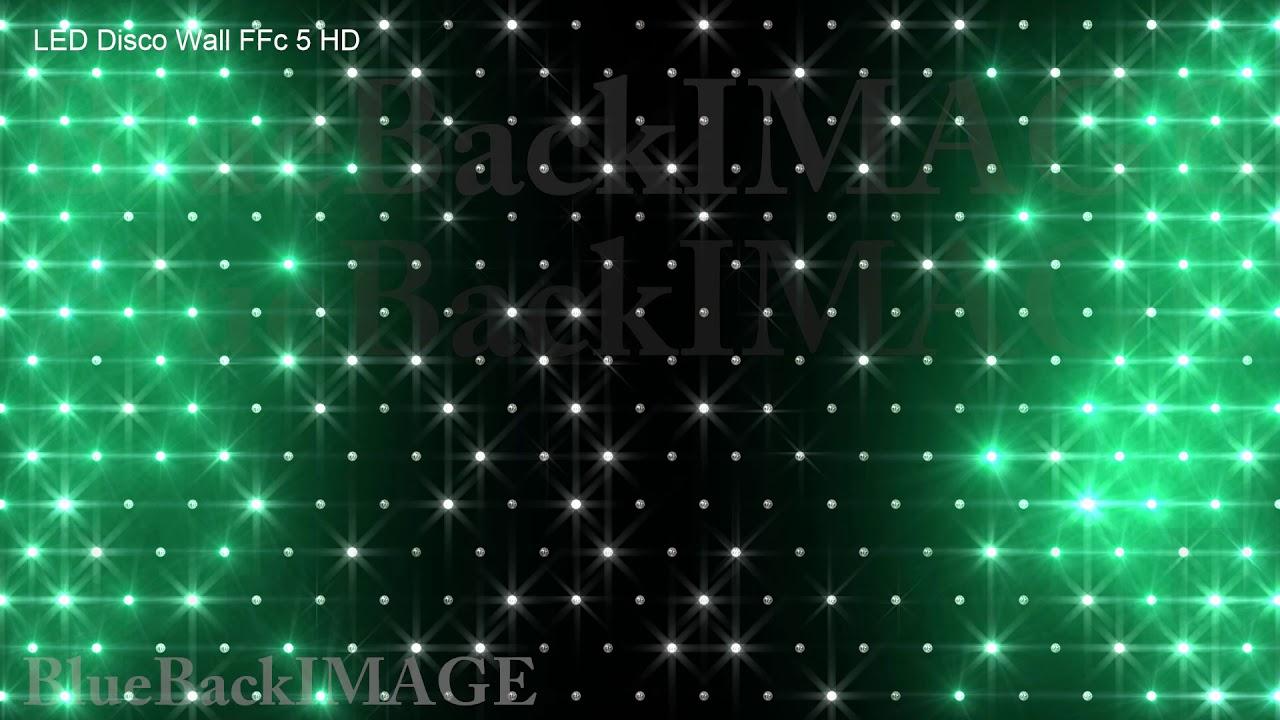 stock footage illumination led light neon flash disco glitter club led disco wall ffc 5 hd