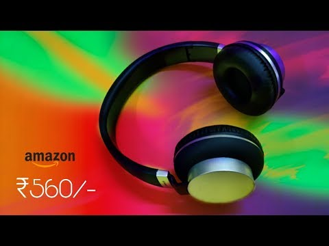 Zivonics ZIV H2261 Budget Headphones | Unboxing & Review | Hindi