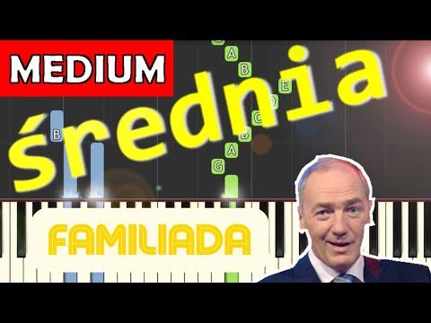 🎹 Familiada (Czołówka, motyw główny) - Piano Tutorial (średnia wersja) 🎹