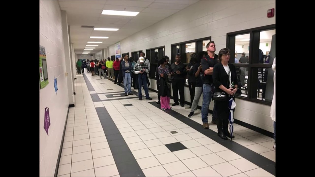 Technical Issues Cause Problems For Georgia Voters
