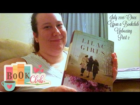 July 2016 Once Upon a Bookclub Unboxing Part 2