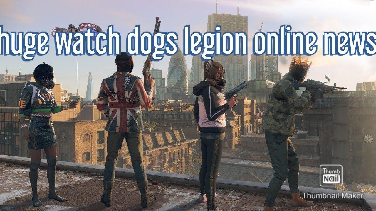 Huge watchdogs legion online news
