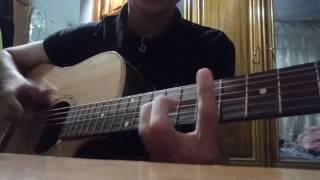 Chưa bao giờ mẹ kể guitar cover by tí kbang