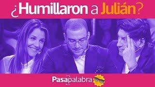 Julián Elfenbein se sintió humillado por los concursantes - Pasapalabra