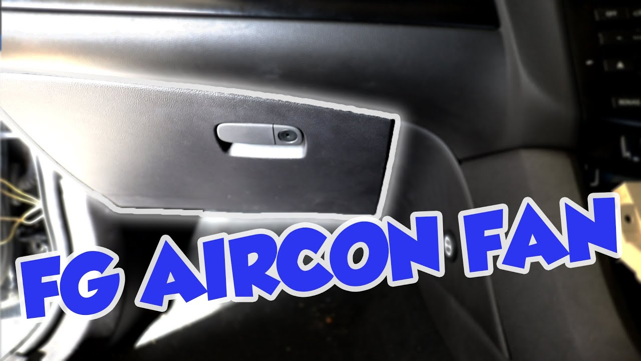 Ford FG Falcon Air conditioner Blower Motor and Glove Box