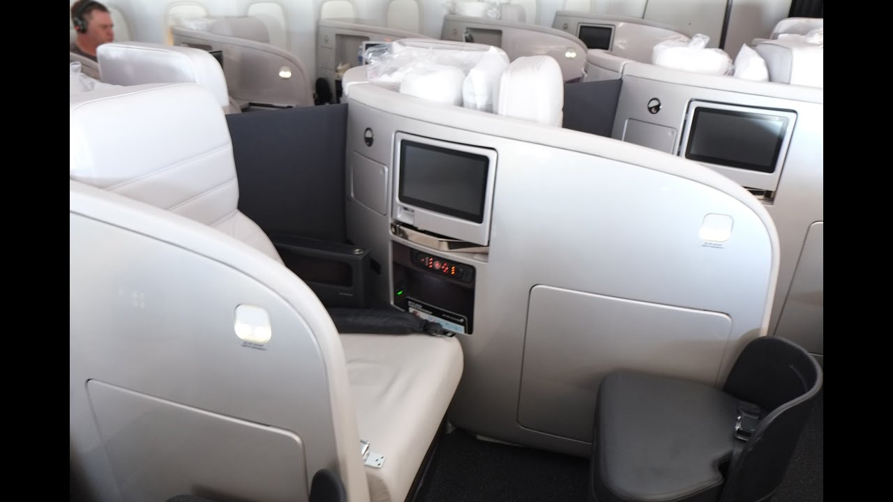 Air New Zealand Business Cl Singapore To Auckland Nz281