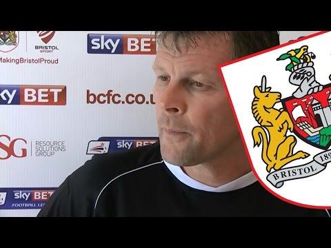 Port Vale v Bristol City Pre-Match Interviews