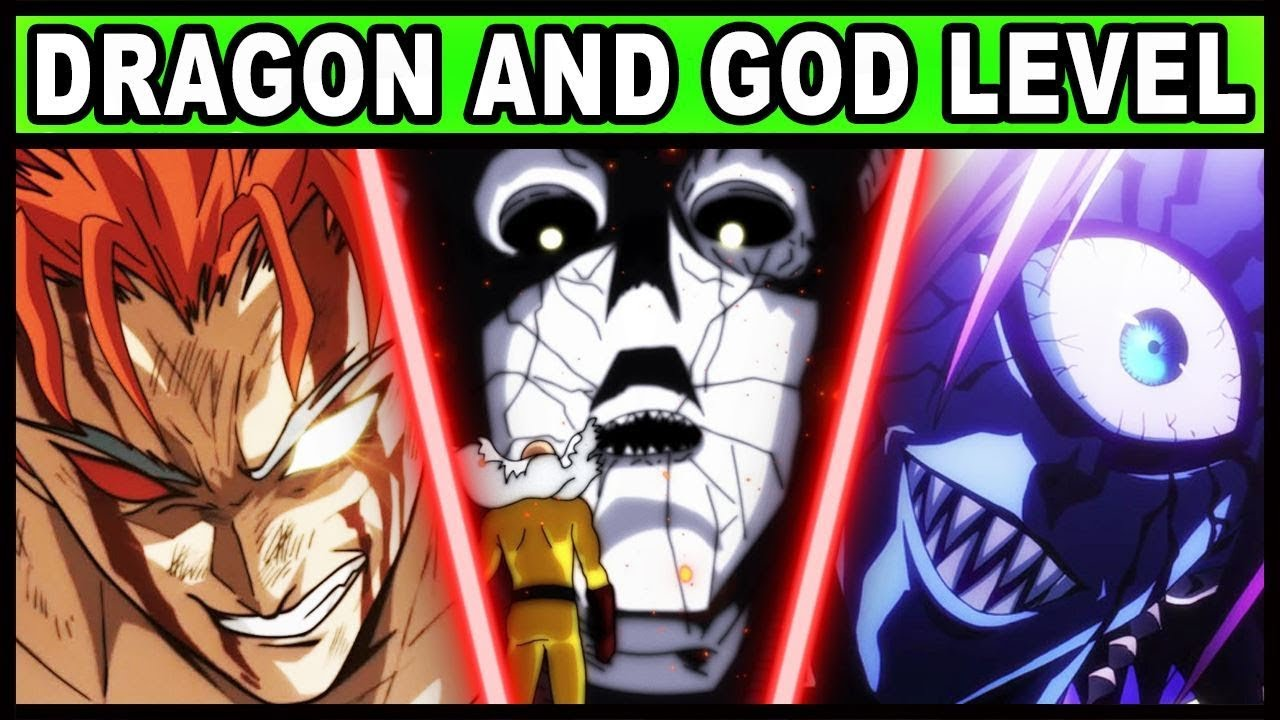 All Dragon And God Level Monsters Explained One Punch Man Youtube
