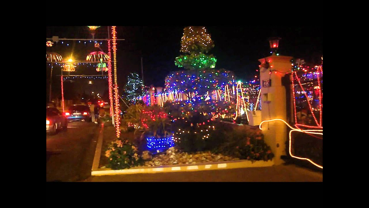 Christmas Lights In Valsayn Youtube