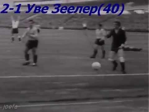 1958 Gol de Uwe Seeler Argentina - Alemania
