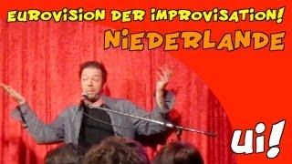 Bekiffter Holländer bei der EUROVISION der Improvisation!