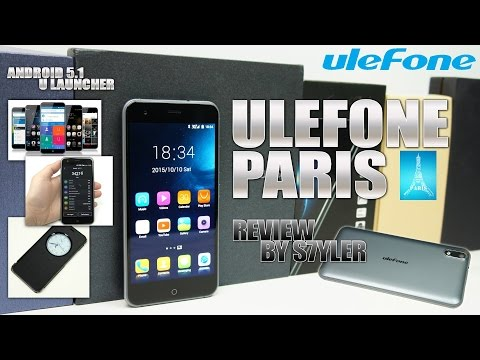Ulefone Paris (Review) iPhone 6 Look-alike? - Video by s7yler
