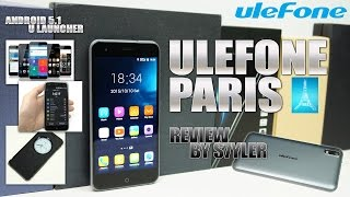 Ulefone Paris (Review) iPhone 6 Look-alike? - Video by s7yler