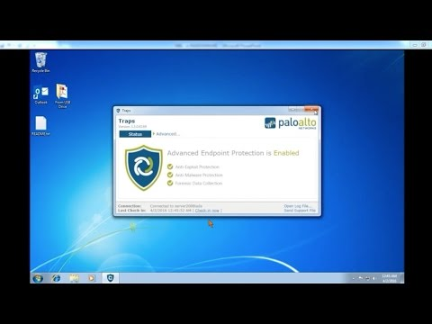 Démo Traps vs Ransomware FR