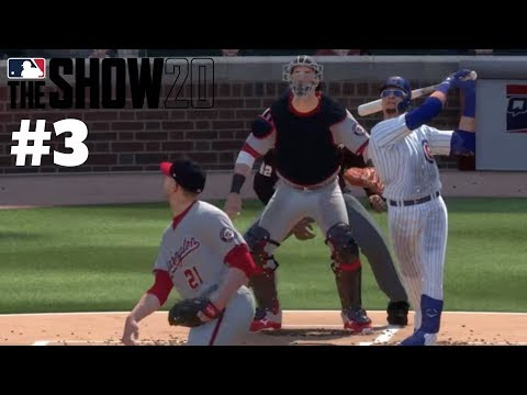 MLB The Show 20 Sim #3 Cubs Vs. Nationals (Channeling My Inner Harry Caray)