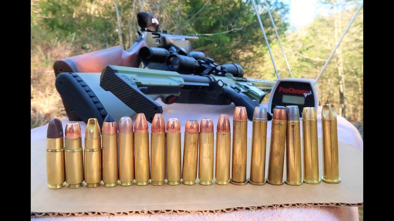 4570 vs 450 Bushmaster vs 458 Socom - Chronograph