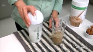 как приготовить горячий коктейль Формула 1   Гербалайф Herbalife