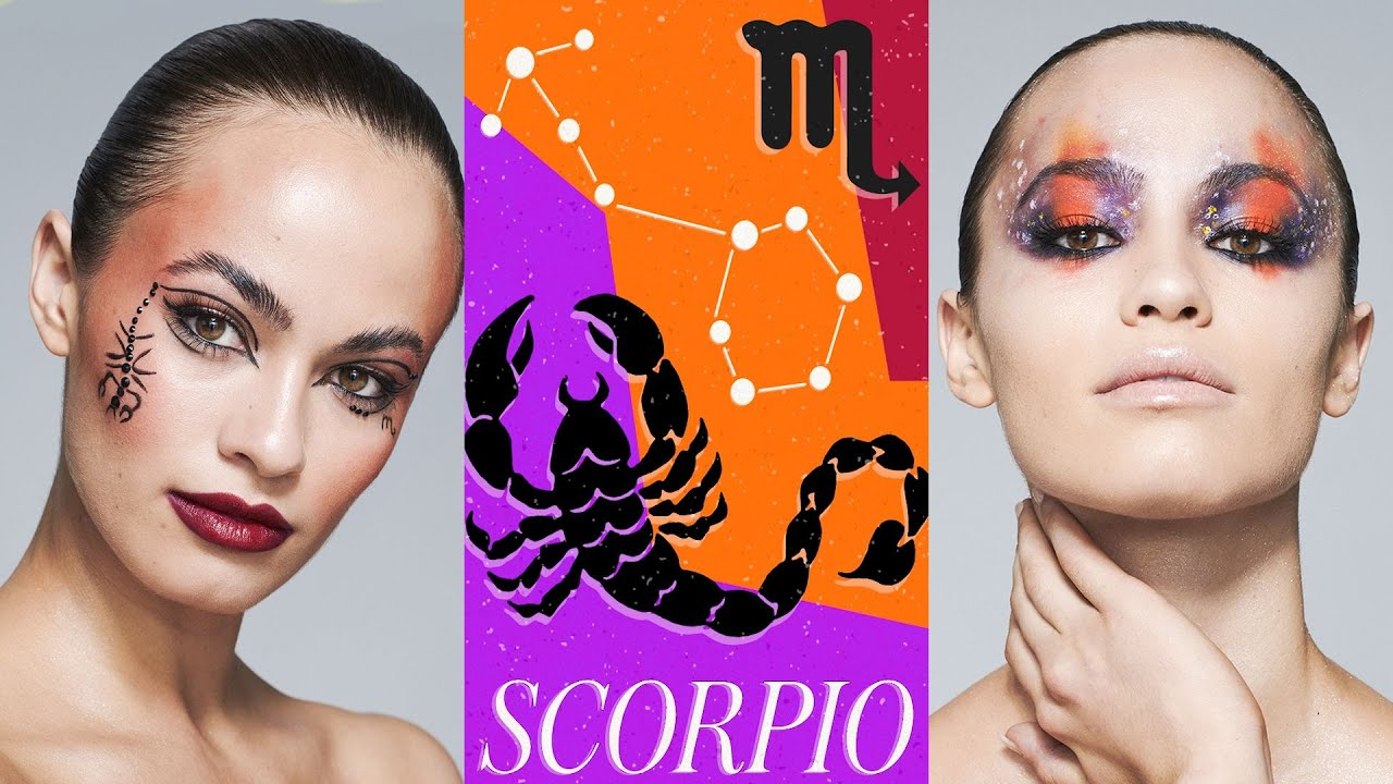 3 Makeup Artists Turn a Model Into The Scorpio Zodiac Sign | Triple Take | Allure