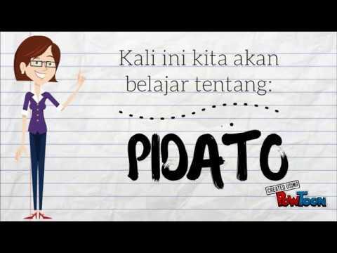 Media Pembelajaran Bahasa Indonesia Pidato Youtube