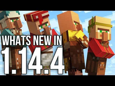 Whats New In Minecraft 1.14.4 Java Edition?