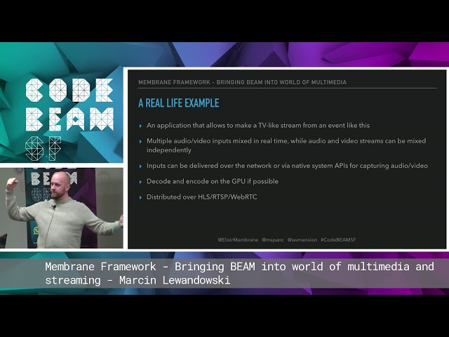 Marcin Lewandowski - Membrane Framework: Bringing BEAM into