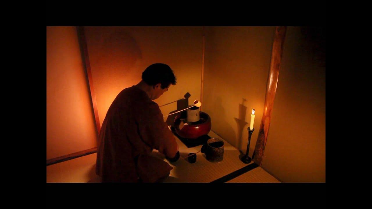 画像: Japanese Tea Ceremony 茶の湯 静寂を楽しむ www.youtube.com