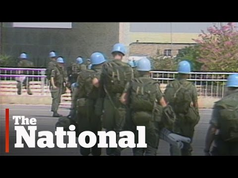Canada's peacekeepers face a troubled world