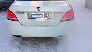 Тюнинг выхлопа с дистанционными заслонками Hyundai Equus 5.0 V8 смотреть