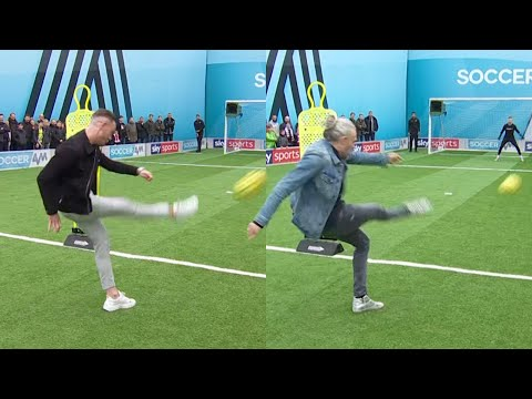 James Maddison vs Jimmy Bullard   Outside the Box Shooting Challenge   You Know the Drill Live