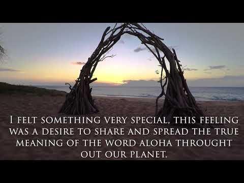 ''The beginning'' Spread the aloha movement (English Version)