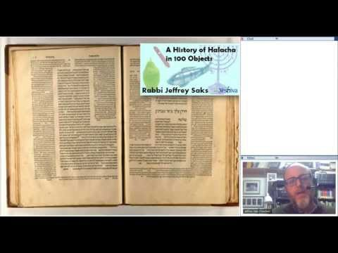 A History of Halakhah in 100 Objects: The Talmud