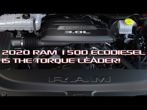 2020 Ram V6 EcoDiesel Announced! Class leading torque, towing and fuel economy!
